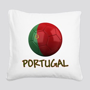 portugal ns Square Canvas Pillow