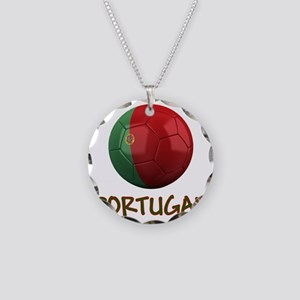 portugal ns Necklace Circle Charm