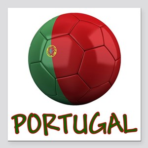 "portugal ns Square Car Magnet 3"" x 3"""