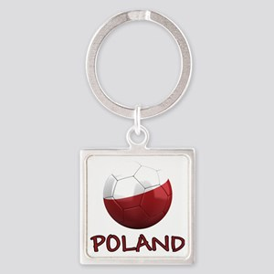 poland ns Square Keychain