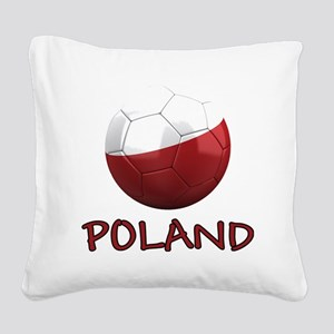 poland ns Square Canvas Pillow