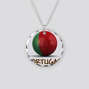 portugal Necklace Circle Charm