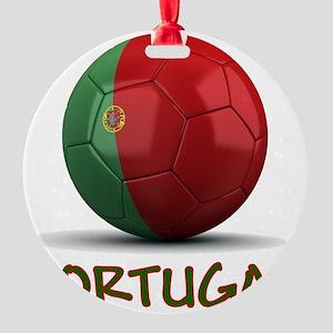portugal Round Ornament