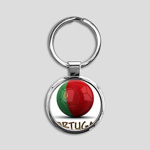 portugal Round Keychain