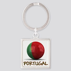 portugal Square Keychain