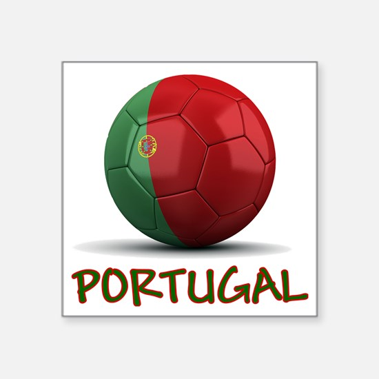 "portugal Square Sticker 3"" x 3"""