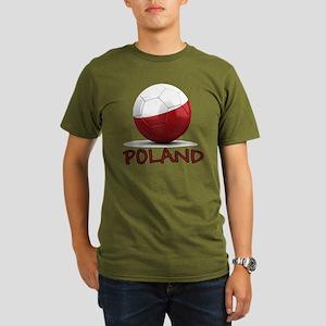 poland Organic Men's T-Shirt (dark)
