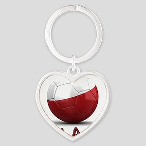 poland Heart Keychain