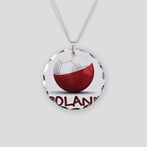 poland Necklace Circle Charm