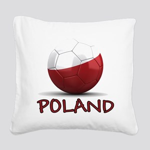 poland Square Canvas Pillow