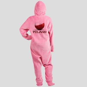 poland Footed Pajamas