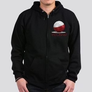 poland Zip Hoodie (dark)