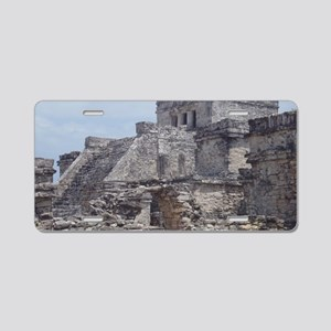 1 Tulum 2 Aluminum License Plate