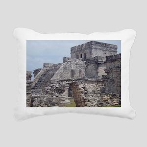 1 Tulum 2 Rectangular Canvas Pillow