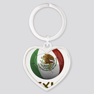 mexico ns Heart Keychain