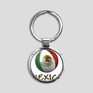 mexico ns Round Keychain