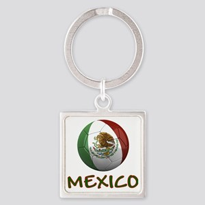 mexico ns Square Keychain