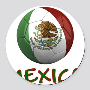 mexico ns Round Car Magnet