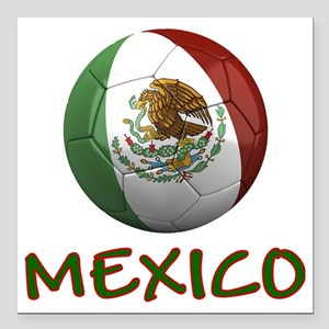 "mexico ns Square Car Magnet 3"" x 3"""