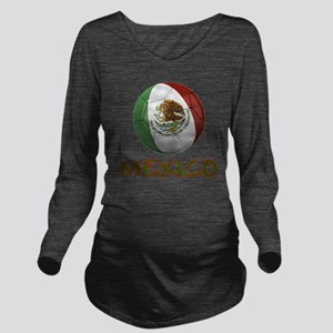 mexico ns Long Sleeve Maternity T-Shirt