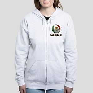 mexico ns Women's Zip Hoodie