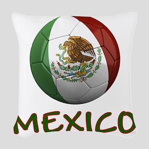 mexico ns Woven Throw Pillow