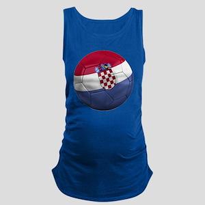 croatia round Maternity Tank Top