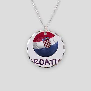 croatia ns Necklace Circle Charm