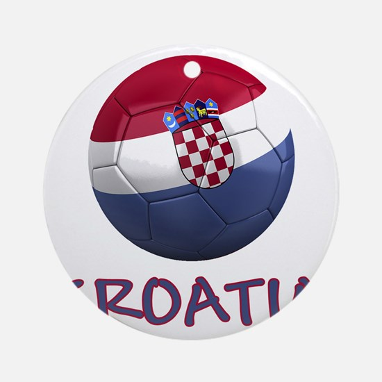 croatia ns Round Ornament