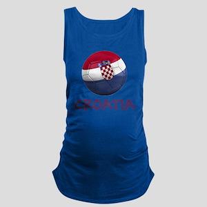 croatia ns Maternity Tank Top