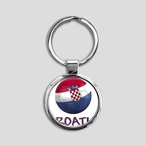 croatia ns Round Keychain