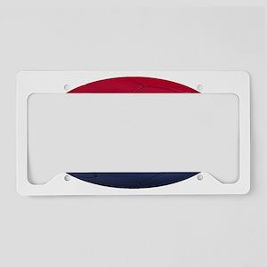 croatia oval License Plate Holder