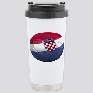 croatia oval Stainless Steel Travel Mug