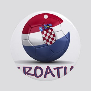 croatia Round Ornament