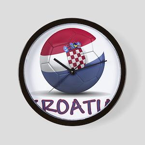 croatia Wall Clock
