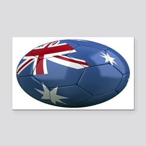 australia oval Rectangle Car Magnet