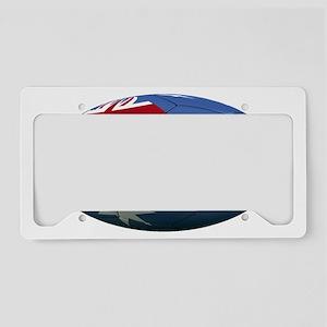 australia oval License Plate Holder