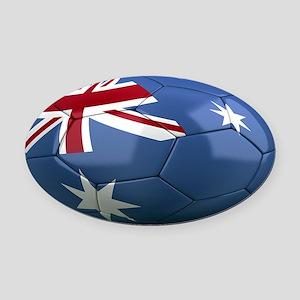 australia oval Oval Car Magnet