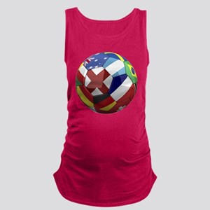cup fever 1 round Maternity Tank Top