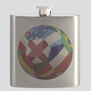 cup fever 1 round Flask