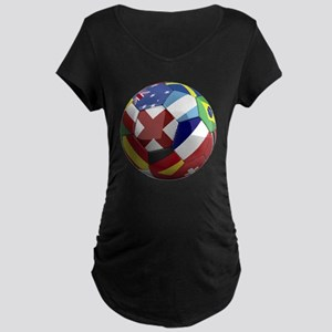 cup fever 1 round Maternity Dark T-Shirt