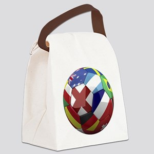 cup fever 1 round Canvas Lunch Bag