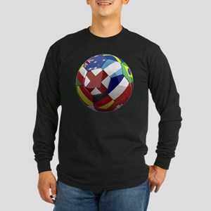 cup fever 1 round Long Sleeve Dark T-Shirt