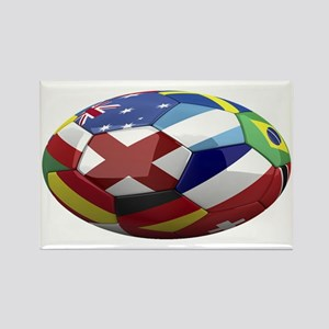 cup fever 1 oval Rectangle Magnet