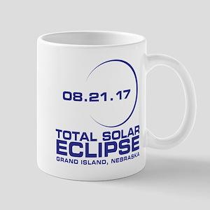 Grand Island Nebraska Eclipse Mugs