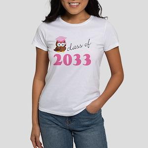 Class Of 2033 owl T-Shirt