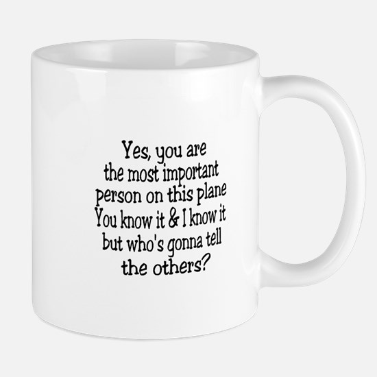 small yes you are button.png Mugs