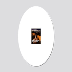 The Empty greeting card 20x12 Oval Wall Decal