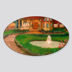 country Sticker (Oval)