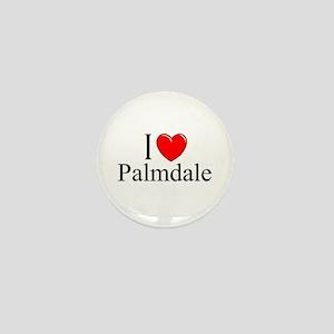 """I Love Palmdale"" Mini Button"